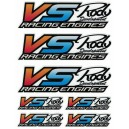Decal VS-RACING 135x180mm VS15100