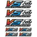 Decal VS-RACING 135x180mm VS15100