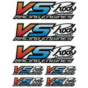 Autocollant VS-RACING 135x180mm VS15100