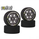 Set CONTACT 1/10 26/30mm 37°/40° Jap CARBON