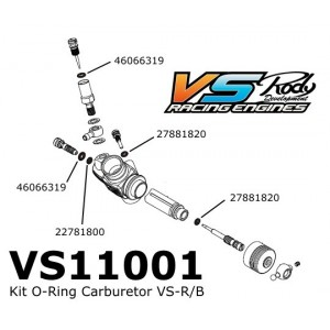 Kit O-Ring Carburetor VS-R/B