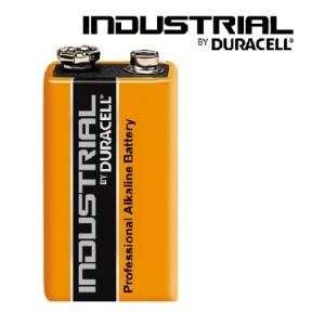 Pile DURACELL Industrial 9V BAT9V