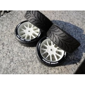 Set KISS TYRES 1/10 RAIN EVO14-10