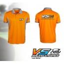 POLO VS Arancio/Grigio-XXL VS15006-XXL