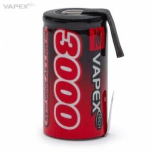 NiMH Battery 1,2V 3000mAh Sub-C VP3000SCT