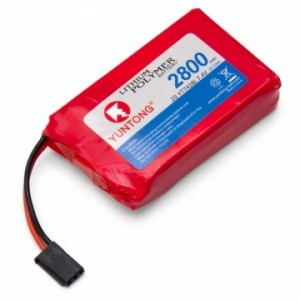 Transmitter/Receiver Battery Li-Po 7,4V 2800mAh YT7428L