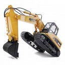 HUINA 1/14TH SCALE RC EXCAVATOR 2.4G 15CH w/DIE CAST BUCKET CY1550