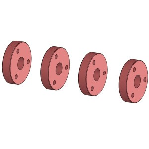 Piston amortisseur 3 trous 03182-3