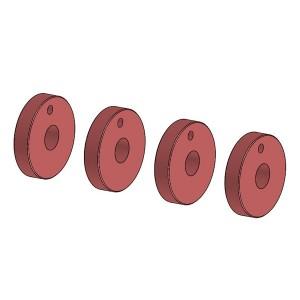 Piston amortisseur 1 trou 03182-1