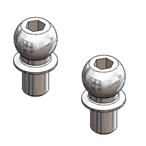 Bille Diam. 5X4mm(2) 03035-4