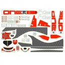 Autocollant WRC F-ONE 02001-2