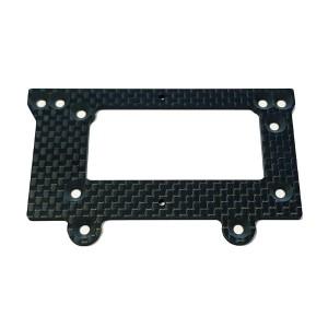 Plaque chassis arriere Carbon 03418