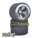 CONTACT Pneus 1/8 Arriere 35° 5R 72mm(2)
