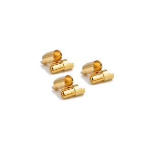 Banana connector 6mm M/F 3 pairs