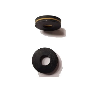 Rubber spacer HARD-X2 4x12x4mm(2) SPM00138d