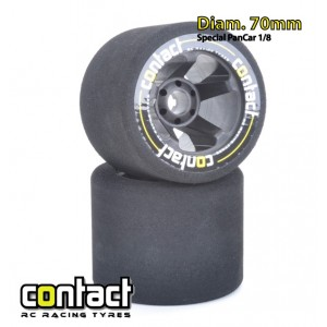 CONTACT TYRES 1/8 REAR 35° 5S 70mm(2)