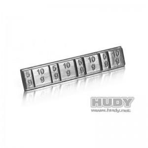 Weights 4x5g + 4x10g HUDY 293080