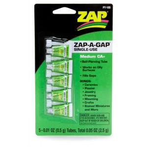 SuperGlue ZAP-A GAP(5x0.5gr)
