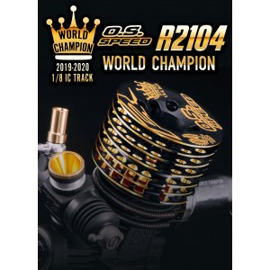 O.S. SPEED R2104 WORLD CHAMPION LIMITED EDITION