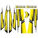 1/8 XTREME Body Skin jaune MTS005Y