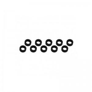 Rondelle 3x6x2mm - Noir(10) UR1506-N