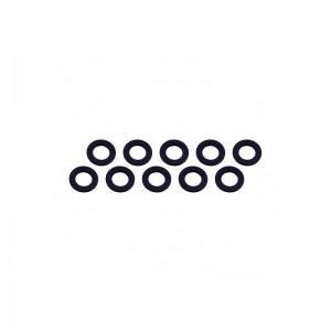 Rondelle 3x6x0.5mm - Black(10) UR1504-N