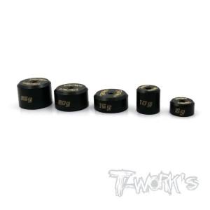 Poids T-WORKS noir(5/10/15/20/25gr x1Pcs) TA081