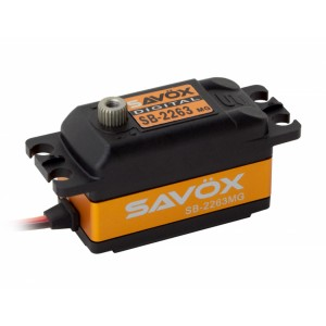 SB-2263MG Servo 10Kg 0,076s Alu Brushless Metal Gear Low