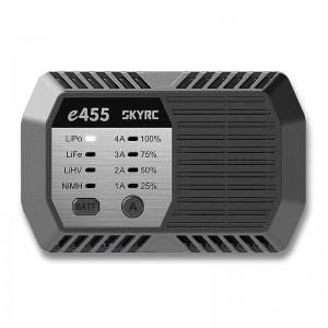 Chargeur secteur SkyRC e455 (LiPo, LiFe/LiHV & NiMh - 50W) SKY100170
