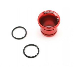 O.S. Venturi 8mm rouge Alu. 71533280