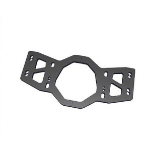 Rear lower plate CARBON SPM00164