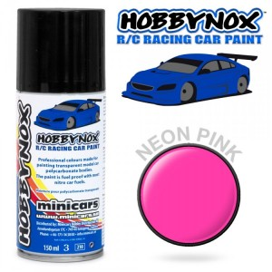 NEON PINK R/C Racing Car Spray Paint 150 ml HN1405