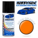 Peinture Lexan HOBBYNOX 150Ml ORANGE NEON HN1402