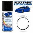 WHITE R/C Racing Car Spray Paint 150 ml HN1100