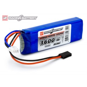 Receiver Battery Li-Fe 6,6V 1600mAh Flat VP93541
